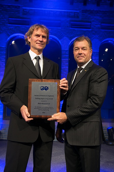 Rolv Rommetveit 2014 SPE Drilling Engineering Award